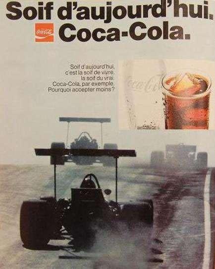 Soif d'aujourd'hui. Coca-Cola. Soif d'aujourd'hui, c'est la soif de vivre, la soif du vrai. Coca-Cola, par exemple. Pourquoi accepter moins?