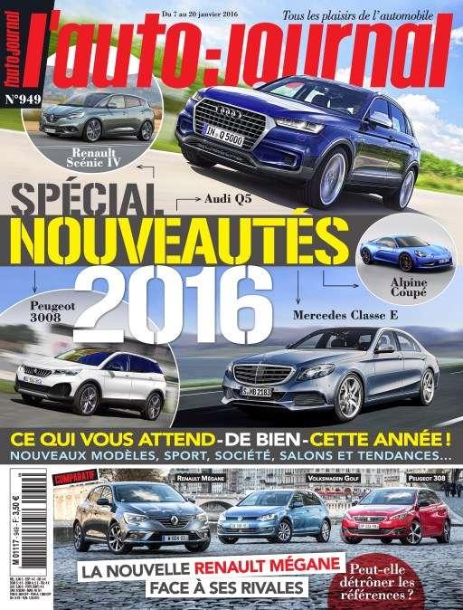 L'Auto-Journal 949 - 7 au 20 Janvier 2016