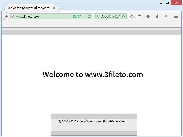 Remove 3fileto.com