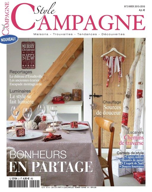 Style Campagne 2 - Hiver 2015/2016