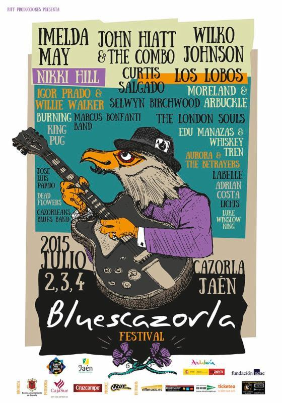 Blues Cazorla cartel completo