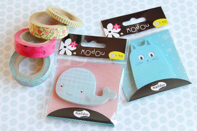 Lichtmalerei » New In - Sticky Notes & Washitape