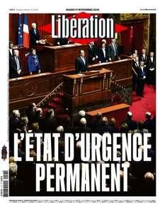 Libération du Mardi 17 Novembre 2015