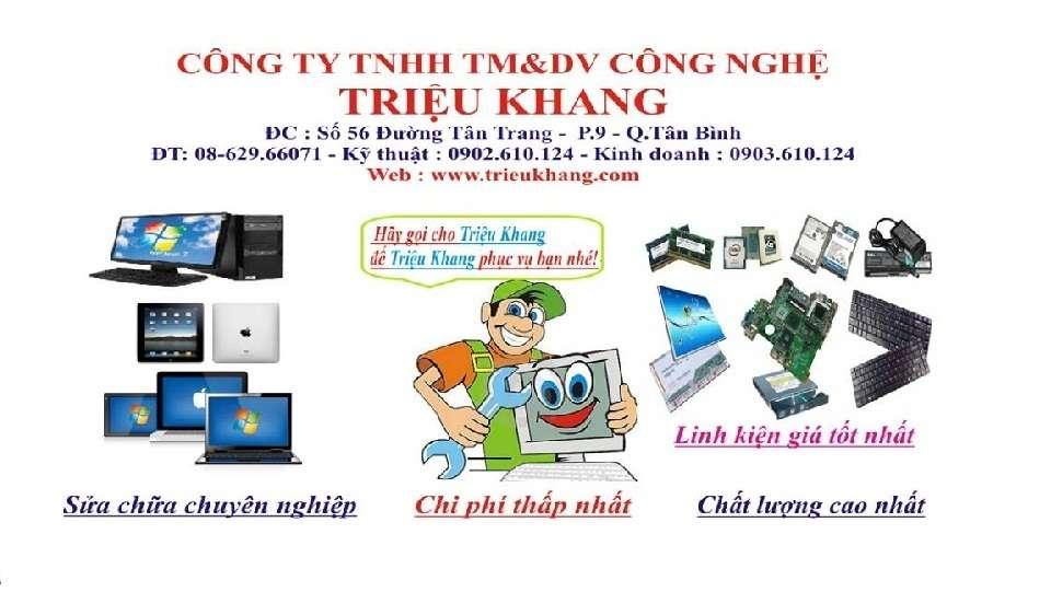 Sửa laptop giá rẻ hcm