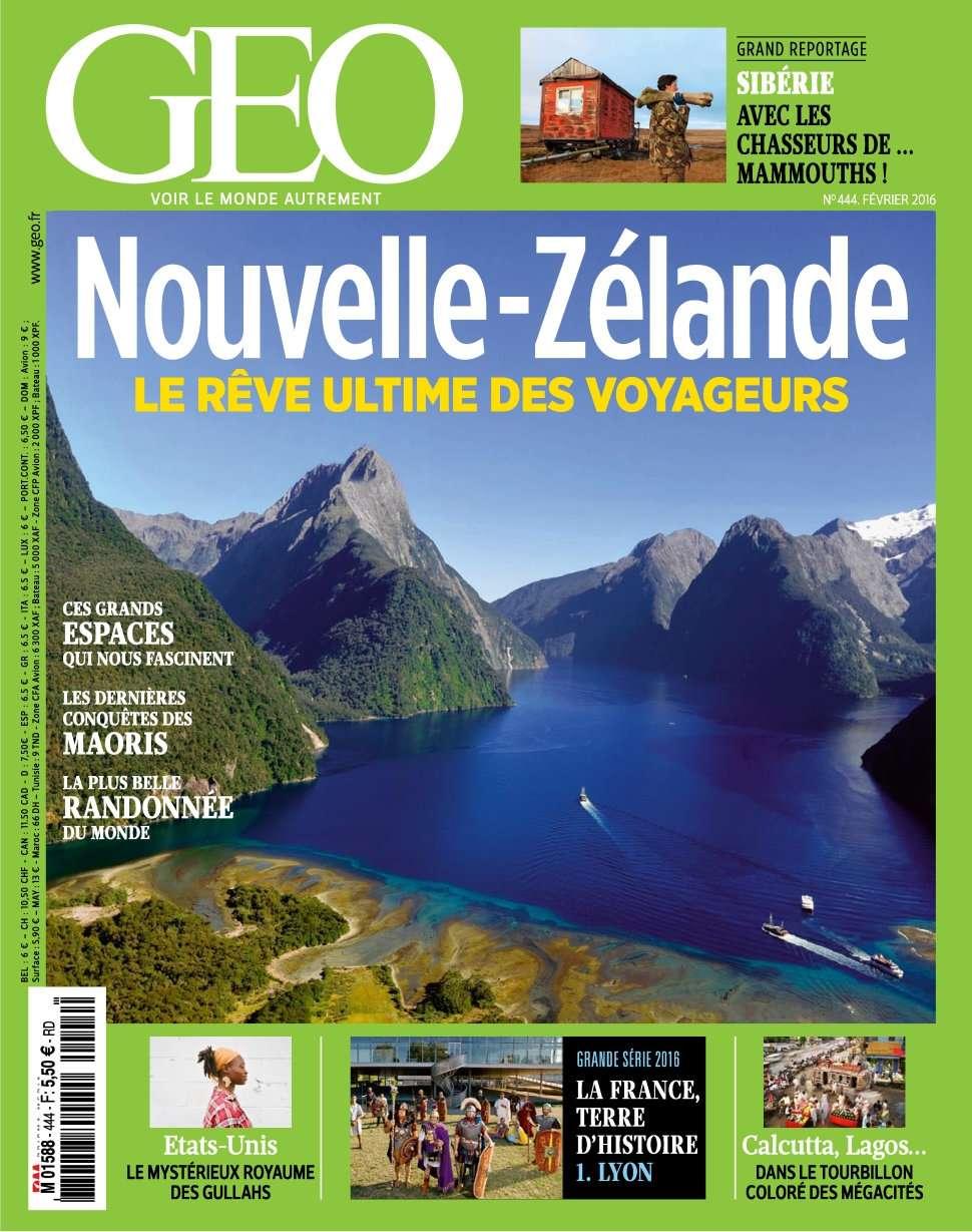 Geo 444 - Février 2016