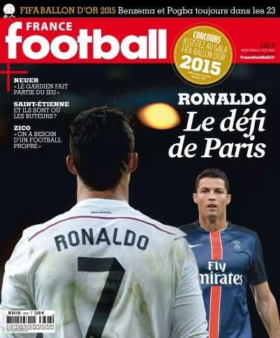 France Football - 21 Octobre 2015