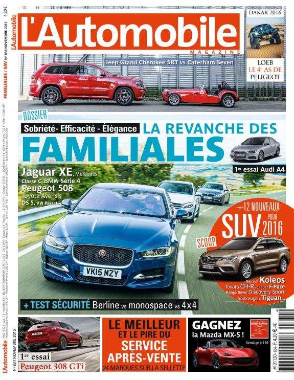 L'Automobile Magazine - Novembre 2015