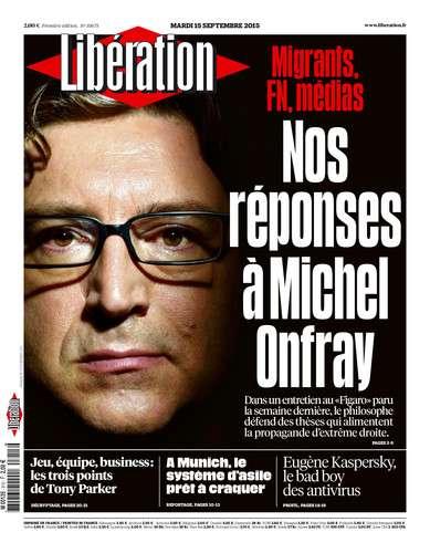 Liberation Du Mardi 15 Septembre 2015
