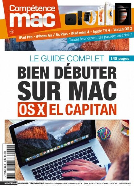 Compétence Mac 44 – Novembre-Decembre 2015