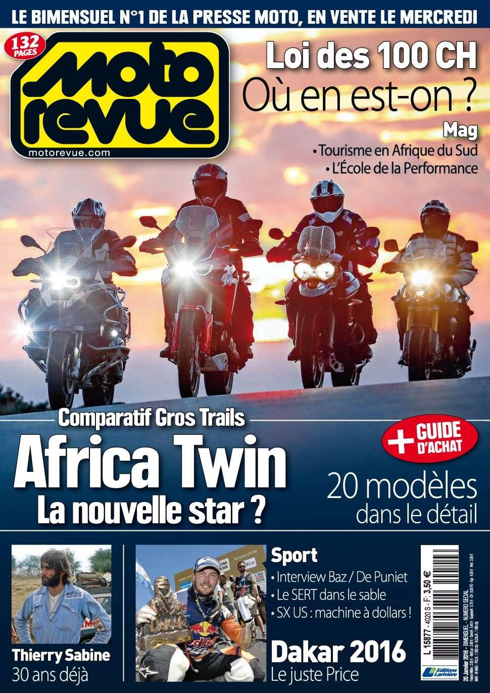 Moto Revue 4020 - 20 Janvier 2016