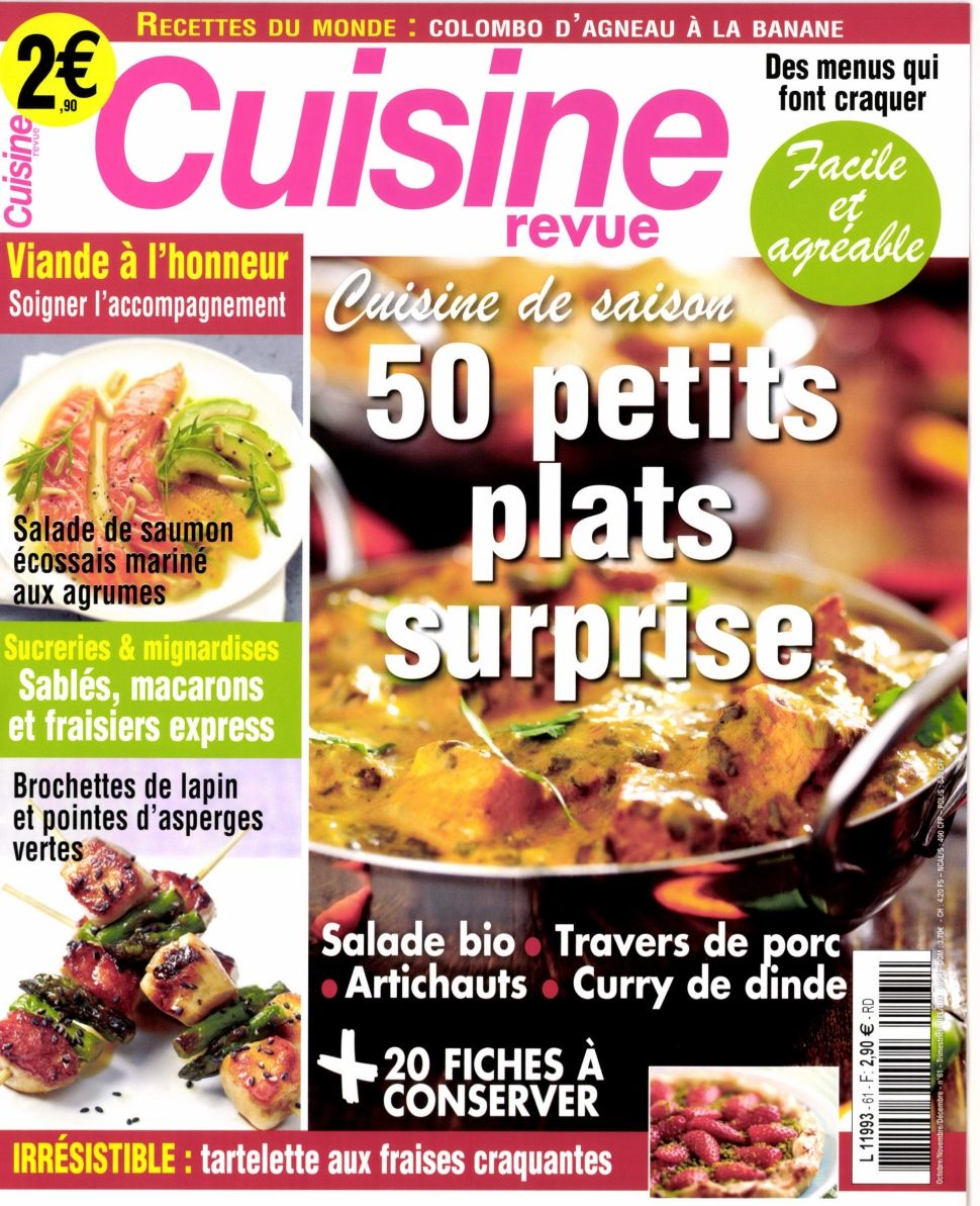 Cuisine Revue 61 - 50 petits plats surprise