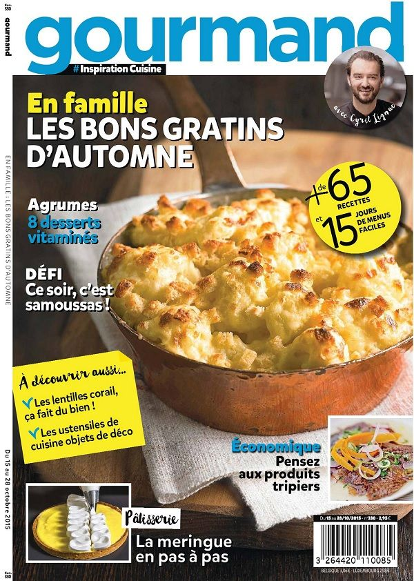 Gourmand 330 - 15 au 28 Octobre 2015