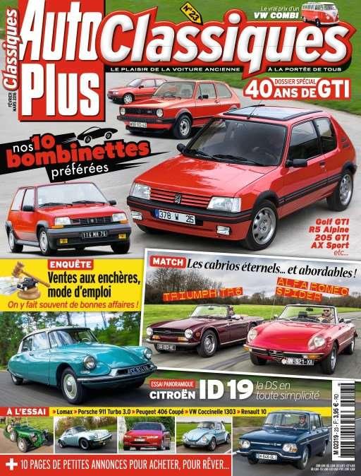Auto Plus Classiques 23 - Février 2016