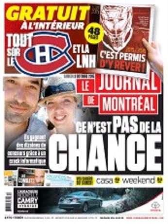 Le Journal De Montréal + Week-end Du Samedi 3 Octobre 2015