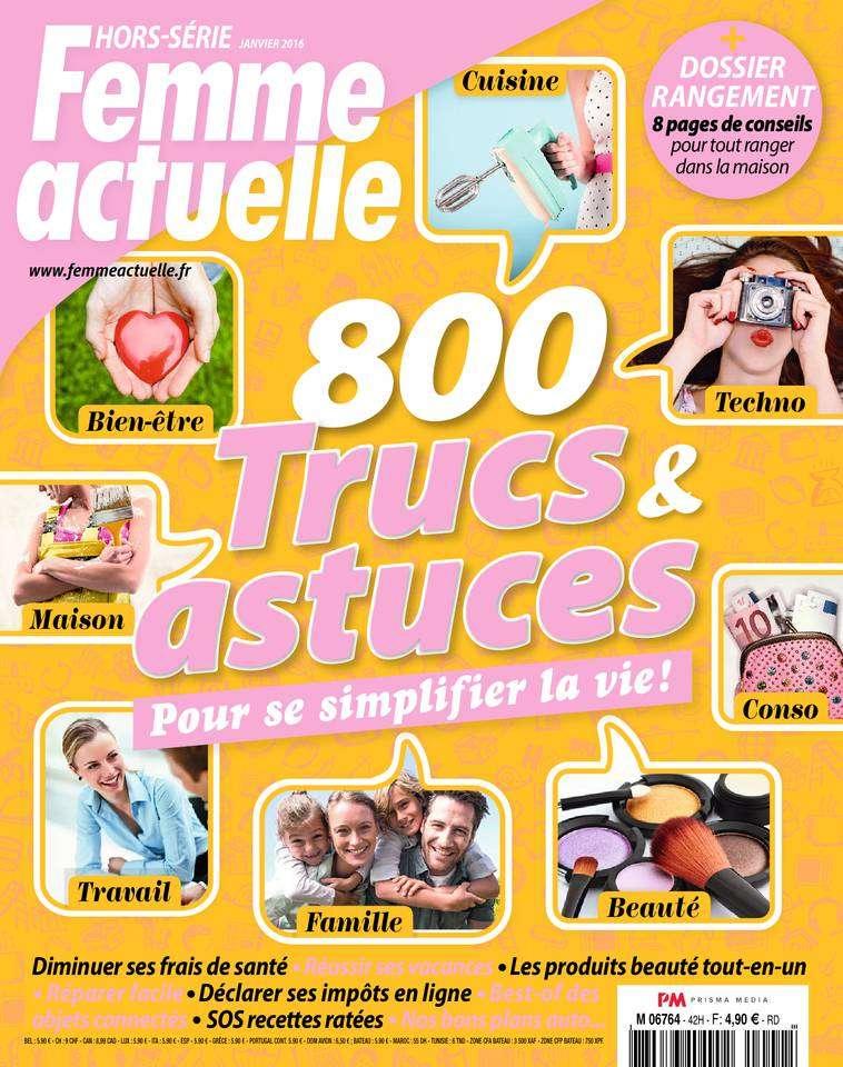 Femme Actuelle Hors-Série 141 - Janvier 2016