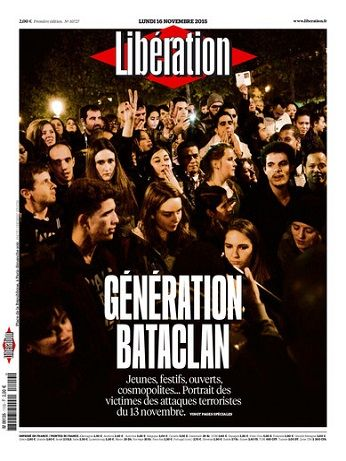 Liberation Du Lundi 16 Novembre 2015
