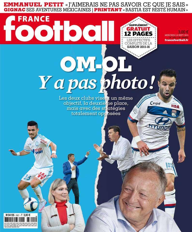 France Football 3621 DU MercrediI 16 septembre 2015