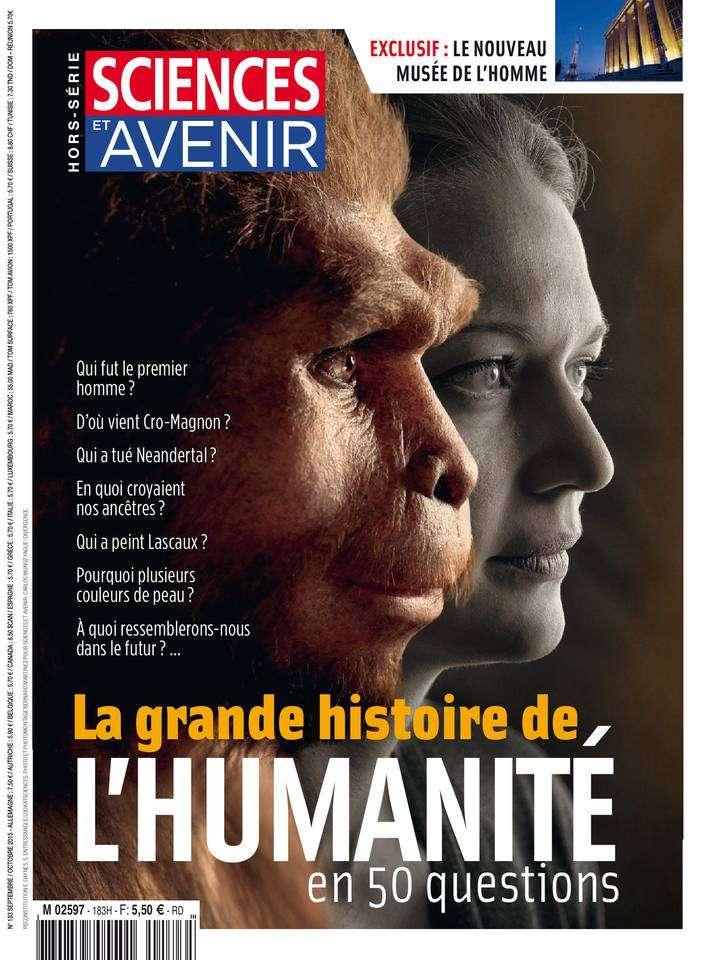 Sciences et Avenir Hors-Série 183 - Septembre-Octobre 2015