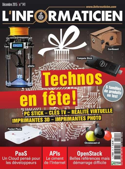 L'Informaticien 141 - Décembre 2015