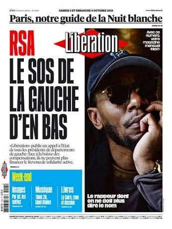 Liberation Week-End Du Samedi 3 & Dimanche 4 Octobre 2015