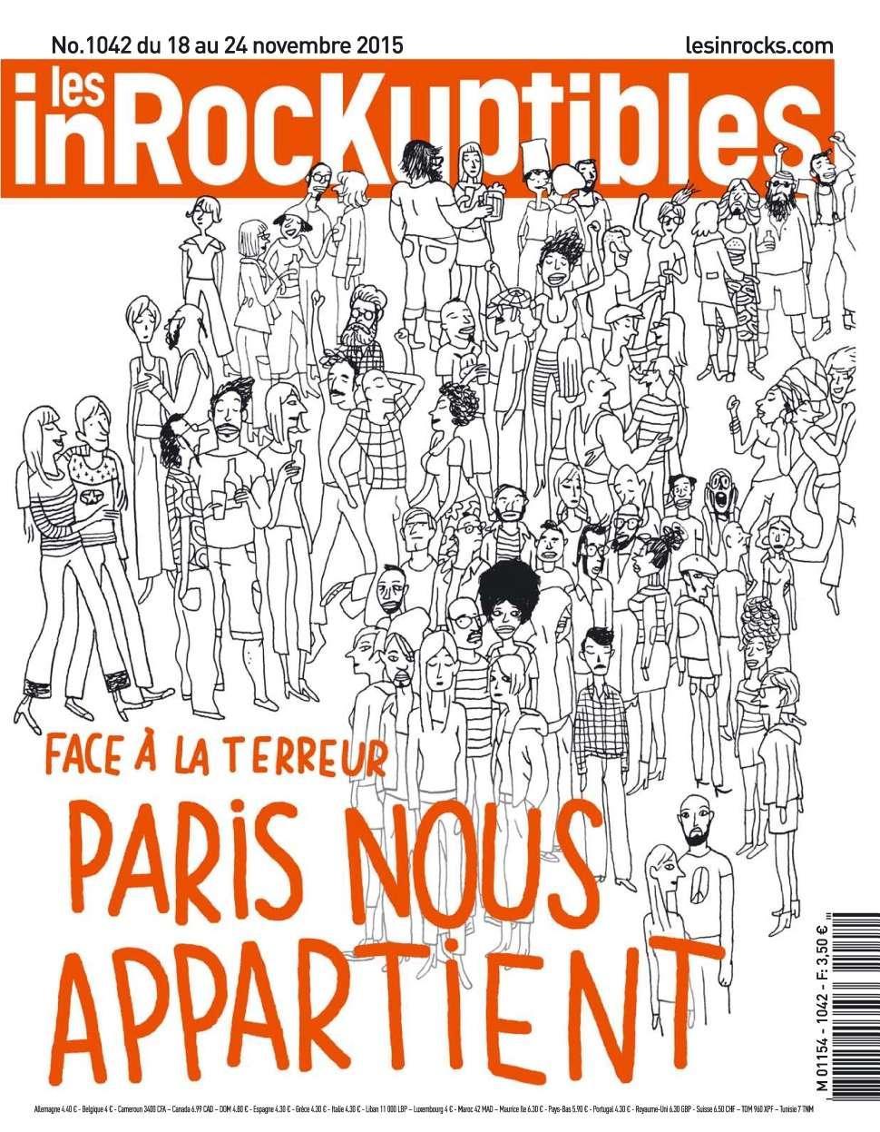 Les Inrockuptibles 1042 - 18 au 24 Novembre 2015