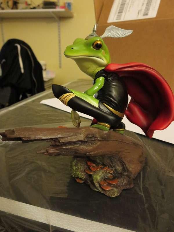 Thor Frog Diorama (Pablo V) [Archive] - Statue Forum