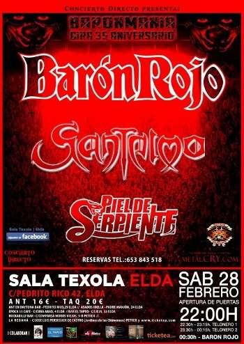Barón Rojo + Santelmo Alicante