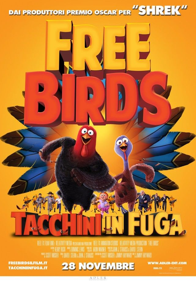 Free Birds - Tacchini in fuga (2013) DVD9 Copia 1:1 Ita Eng