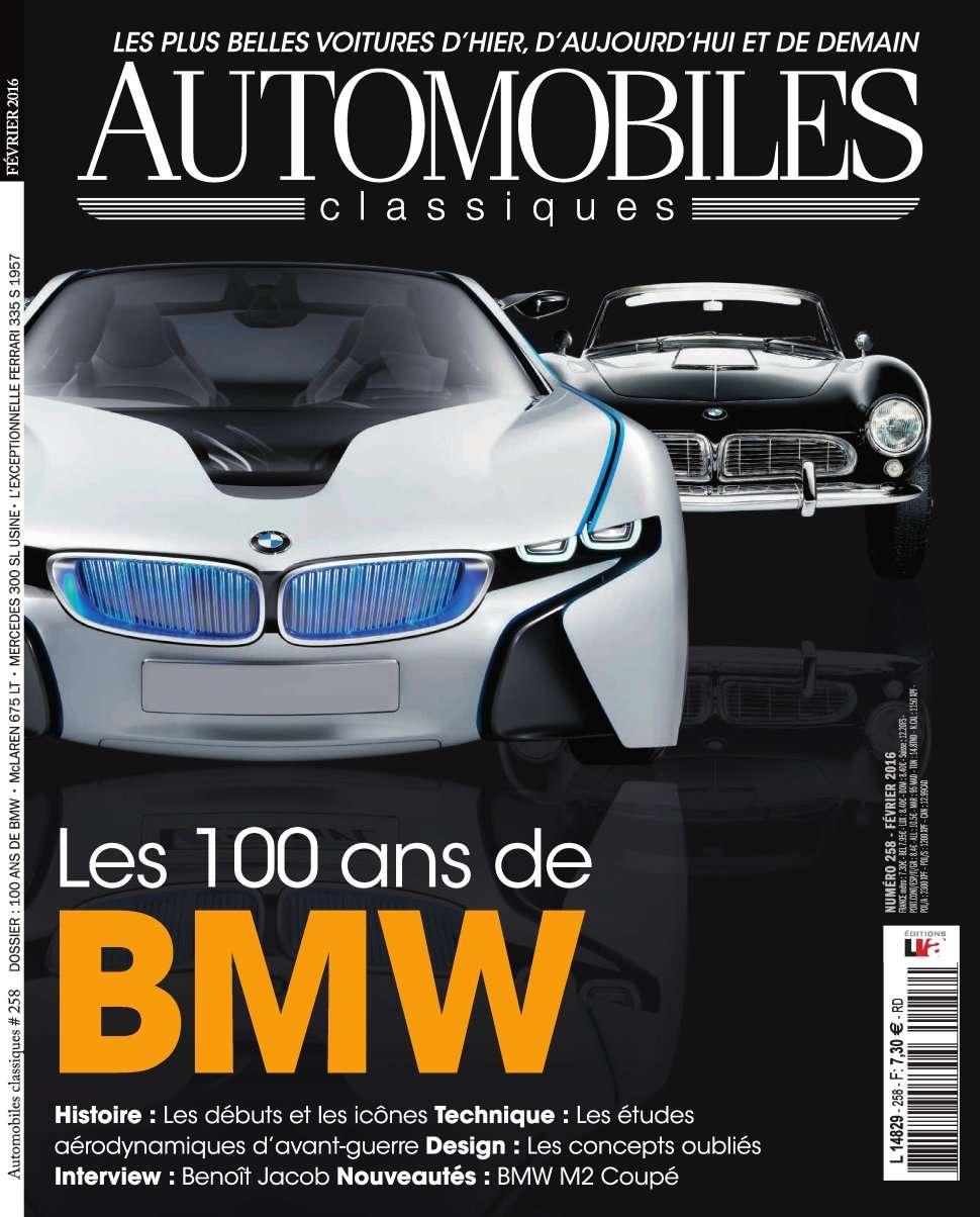 Automobiles Classiques 258 - Février 2016