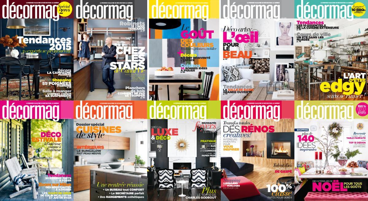décormag - 2015 Full Year Issues Collection