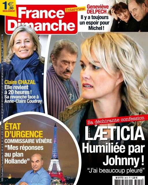 France Dimanche 3612 - 20 au 26 Novembre 2015