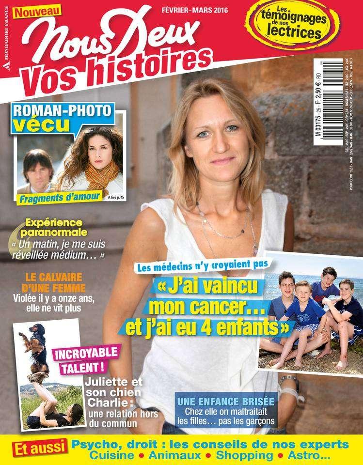 Nous Deux Hors-Série Vos Histoires - Février/Mars 2016