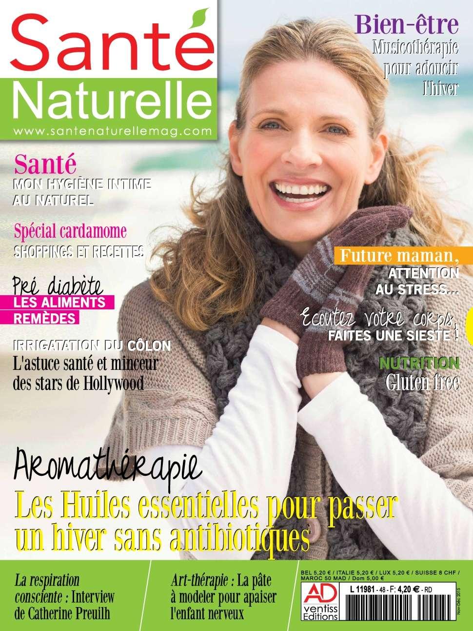 Santé Naturelle 48 - Novembre/Decembre 2015