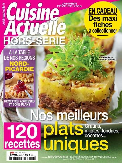 Cuisine Actuelle Hors-Série 120 - Janvier-Février 2016