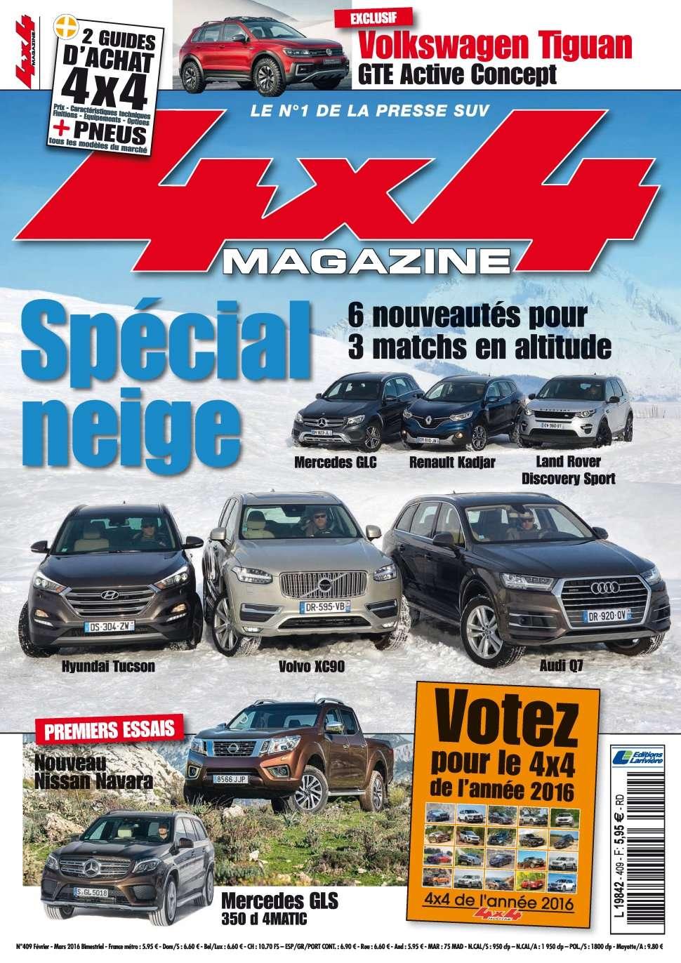 4x4 magazine 409 - Février/Mars 2016