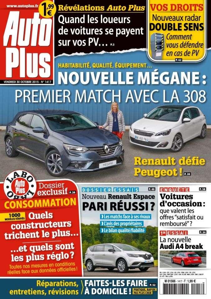 Auto Plus 1417 - 30 Octobre au 5 Novembre 2015