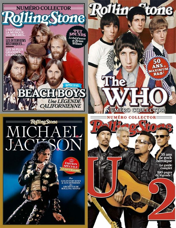 Rolling Stone Hors-Série - Full Year 2015 Collection