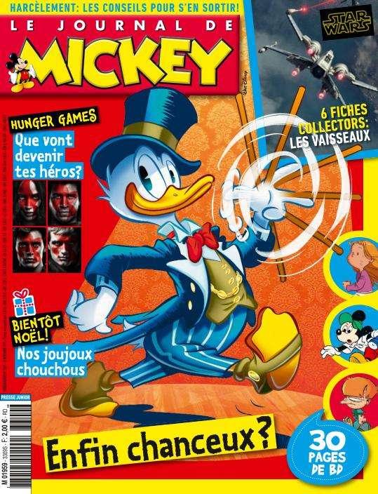 Le Journal de Mickey - 18 au 24 Novembre 2015