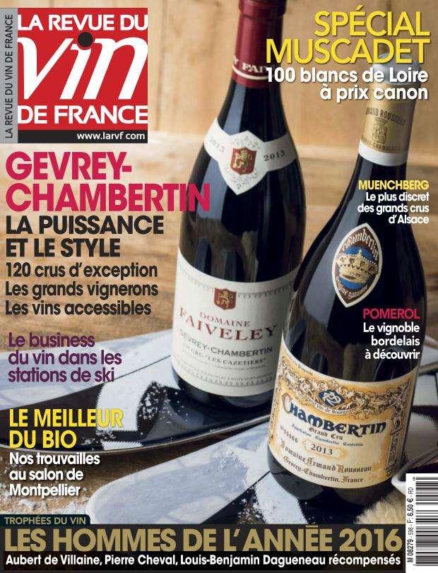 La Revue du Vin de France - Février 2016