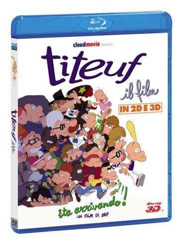 Titeuf, il film 3D 2D (2011) Bluray Full [3D/2D]  AVC DTS-HD ITA FRA Sub - DDN