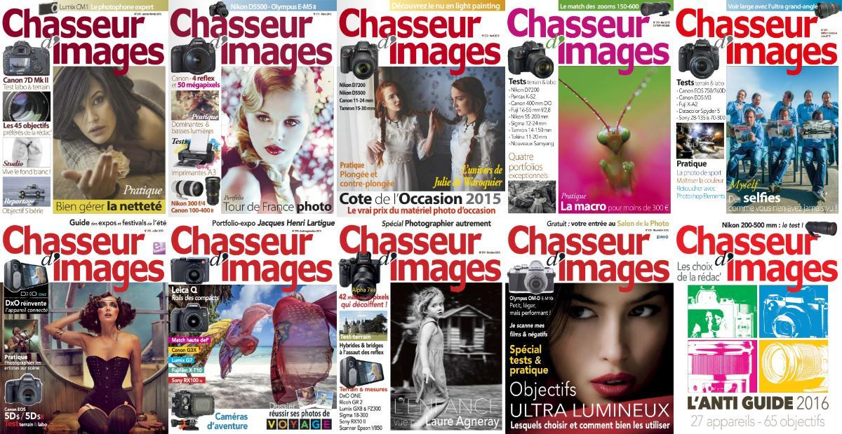 Chasseur d'images - Full Year 2015 Collection