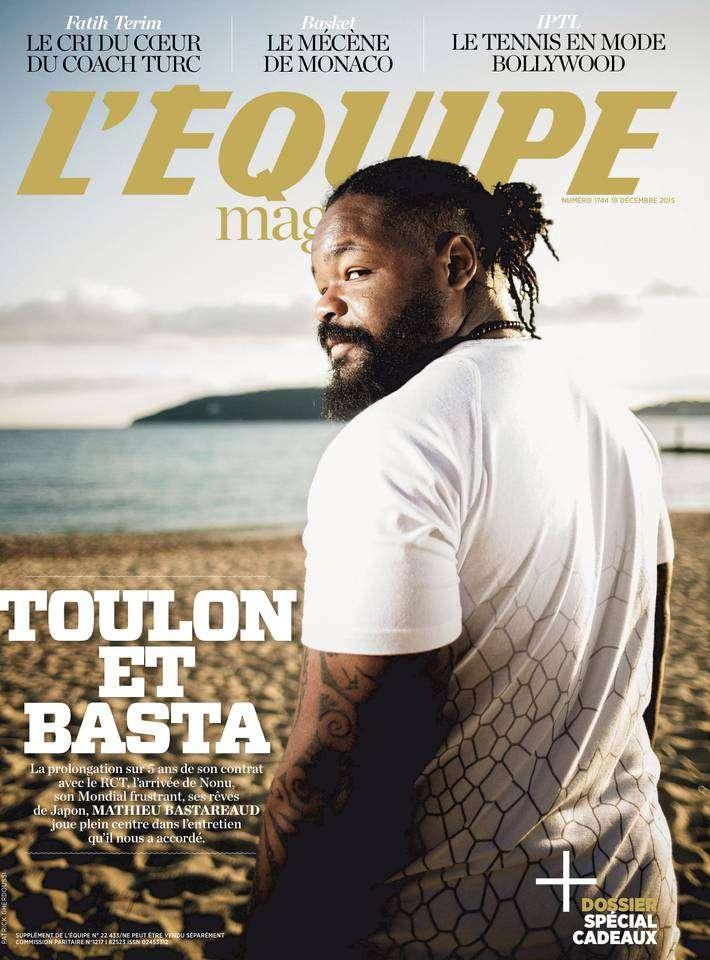 L'Equipe Magazine - 19 Décembre 2015