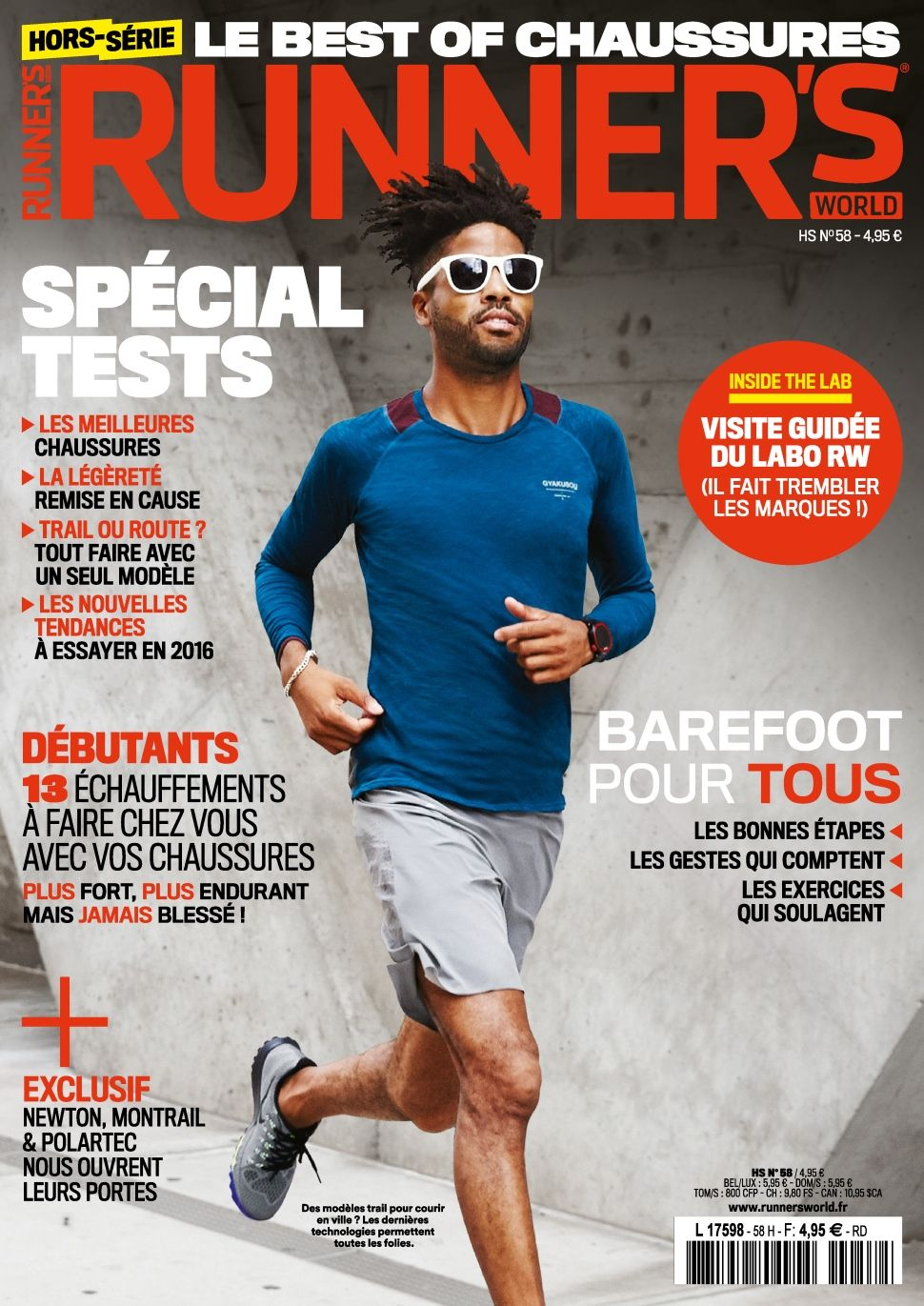 Runner's World 58 - Décembre 2015