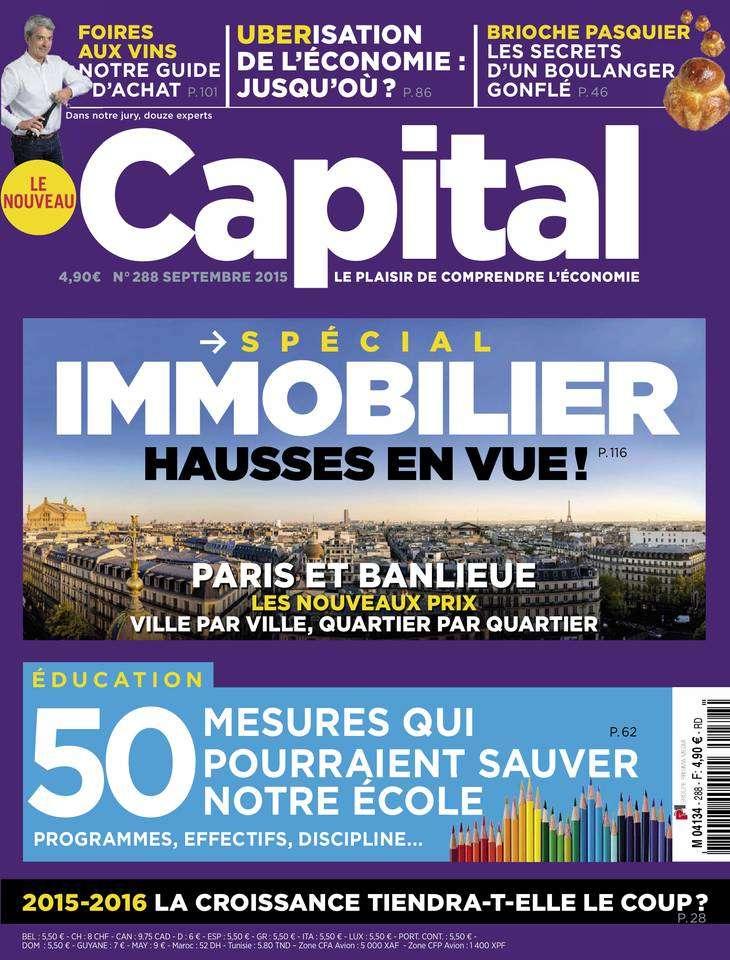 Capital 288 - Septembre 2015