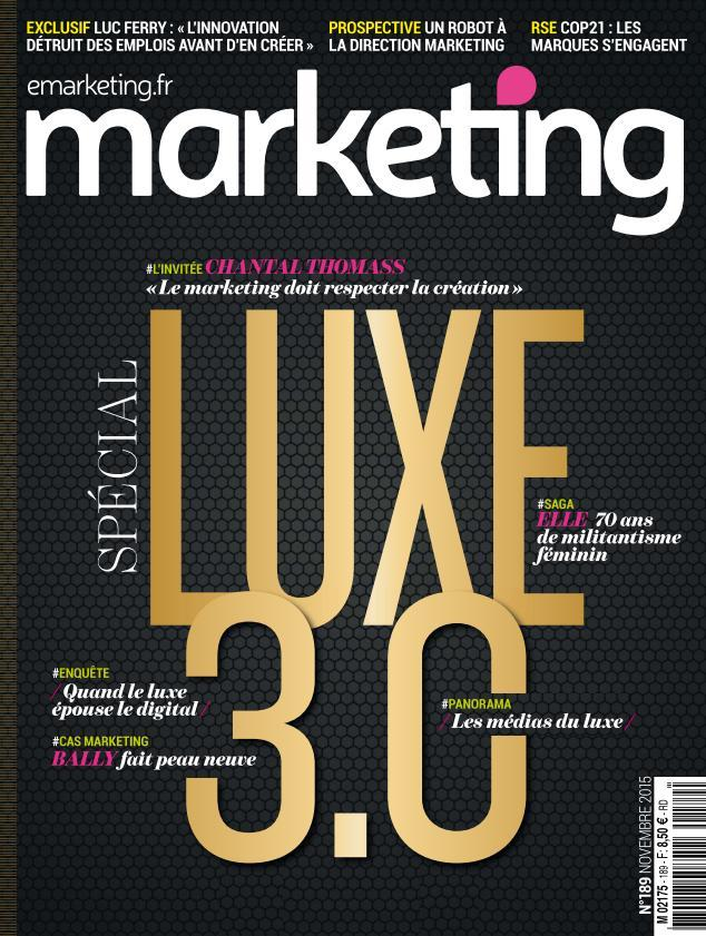 Marketing - Novembre 2015