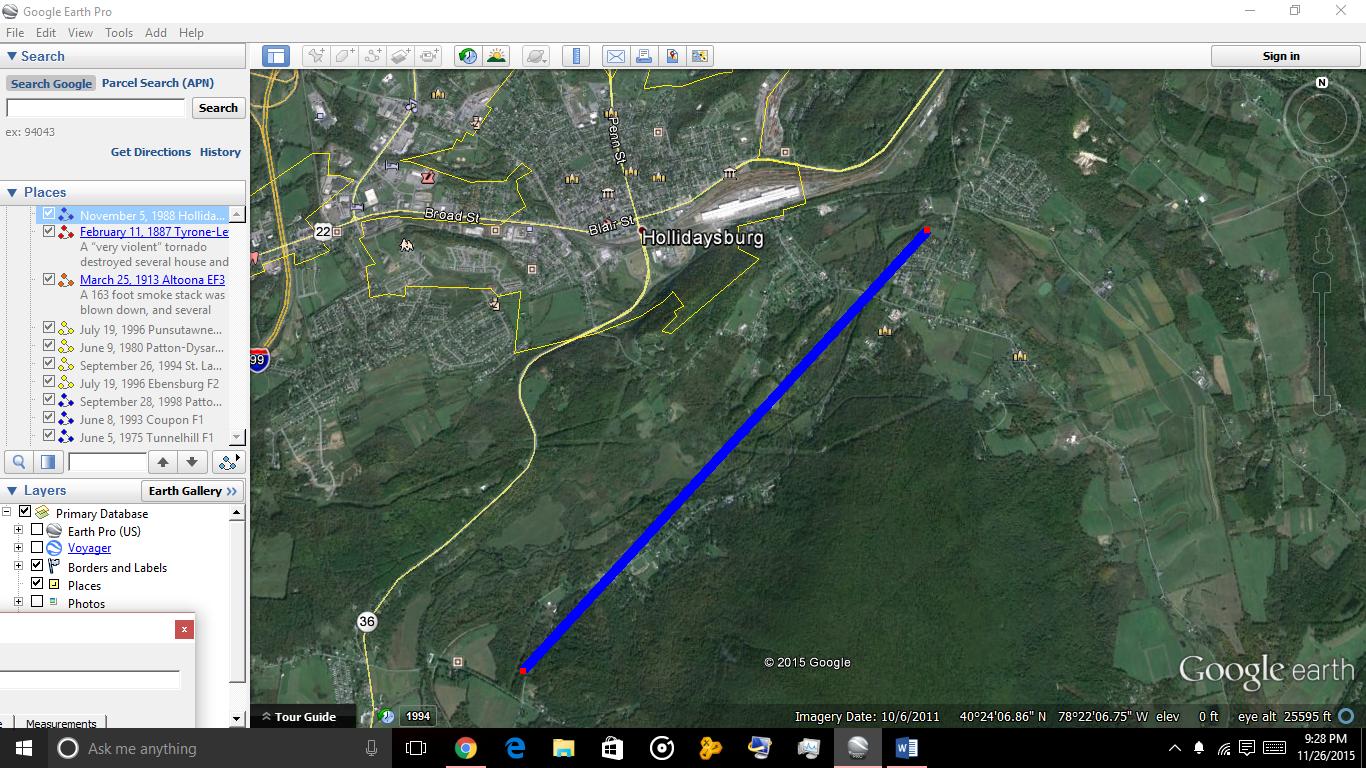 Path of Hollidaysburg F1