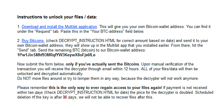 Remove Power Worm Ransomware