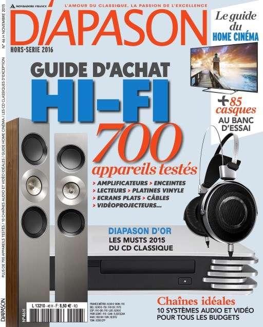 Diapason Hors-Série 46 - Novembre 2015