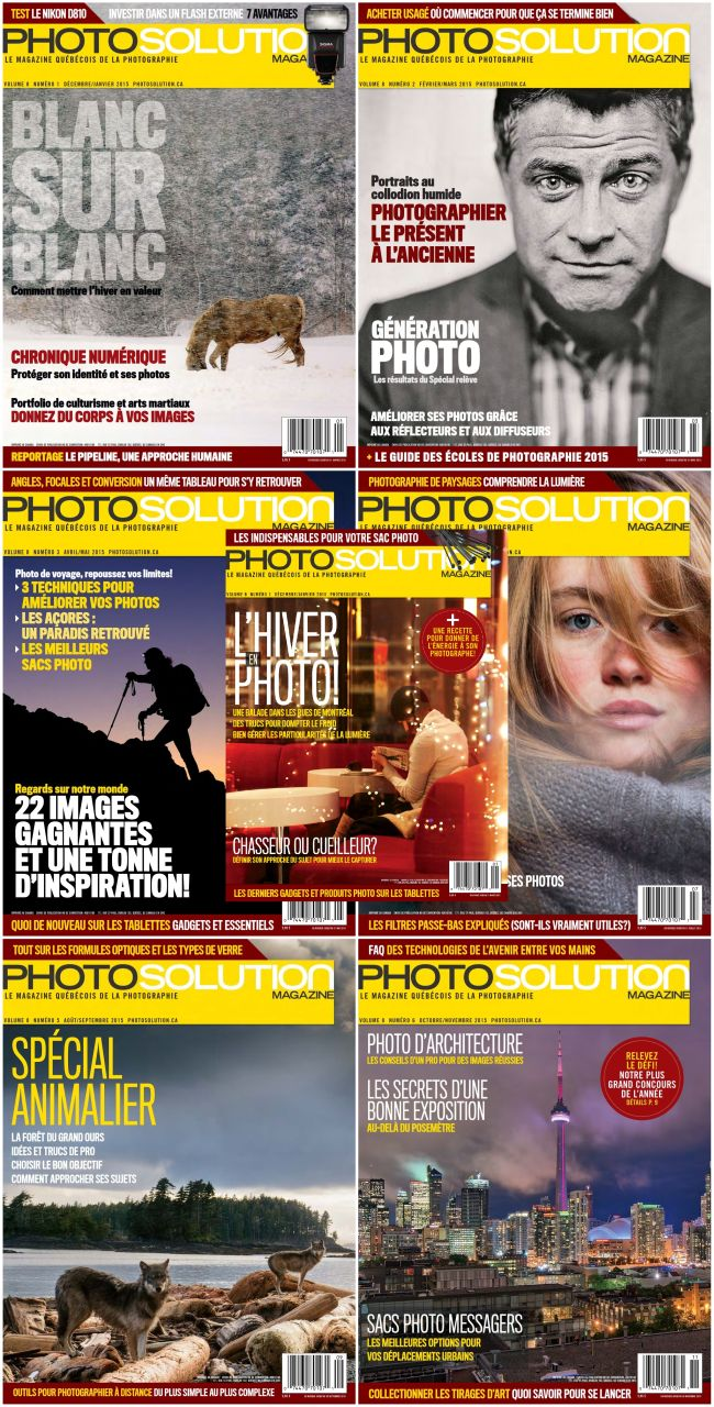 Photo Solution - Collection Annuelle 2015