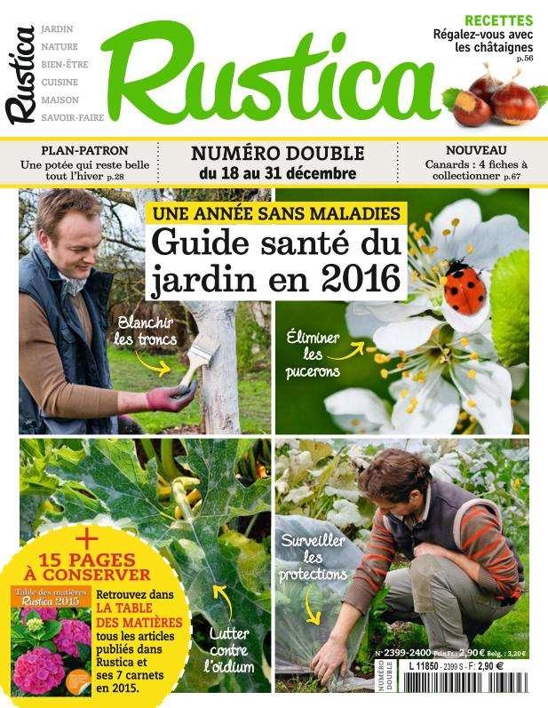 Rustica 2399 - 18 au 31 Décembre 2015